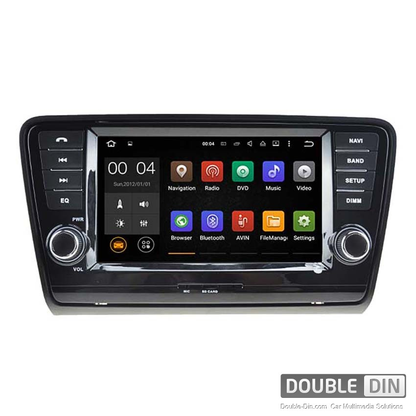 Navigation / Multimedia Head unit with Android 5.1 for Skoda Octavia - DD-5520