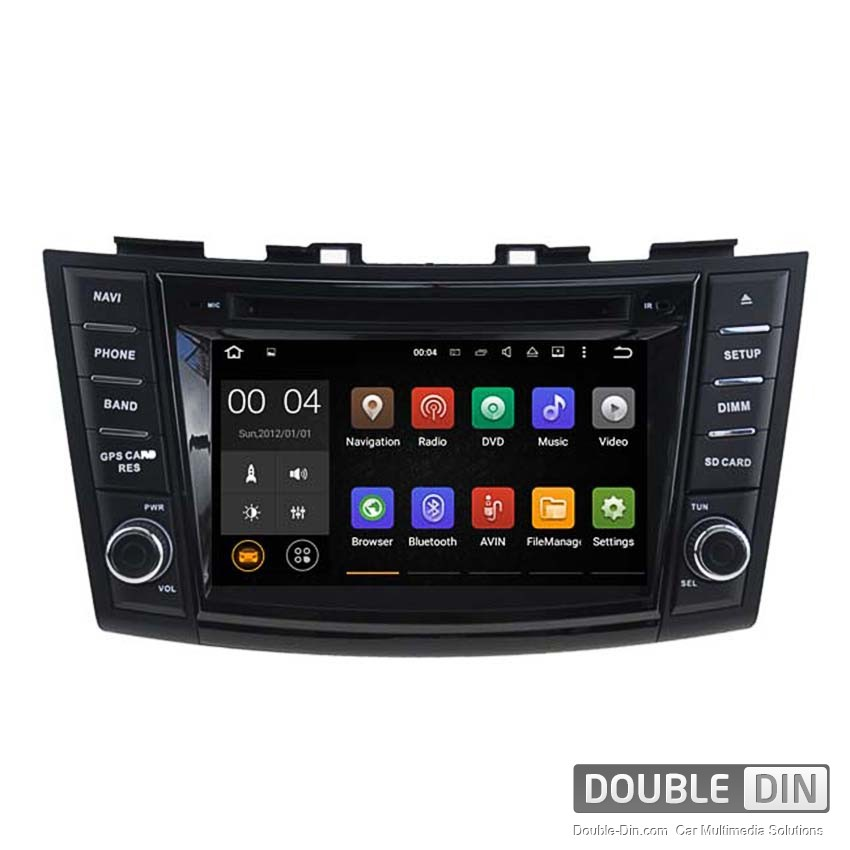 Navigation / Multimedia Head unit with Android 5.1 for Suzuki Swift - DD-5796