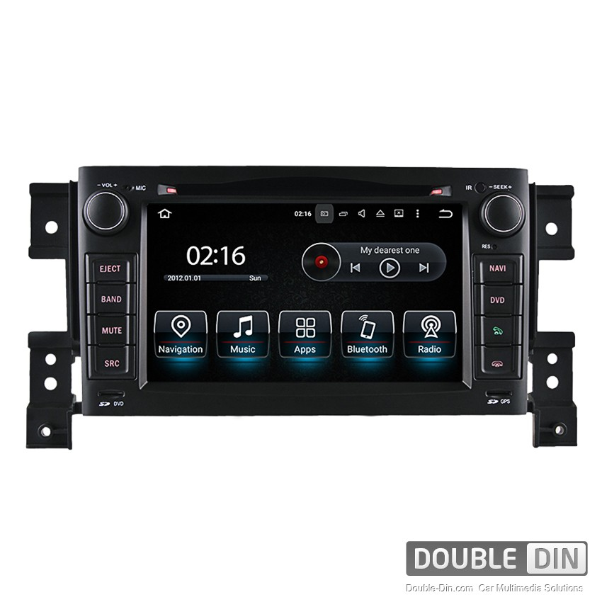 Navigation / Multimedia Head unit with Android 5.1 for Suzuki Grand Vitara - DD-8164