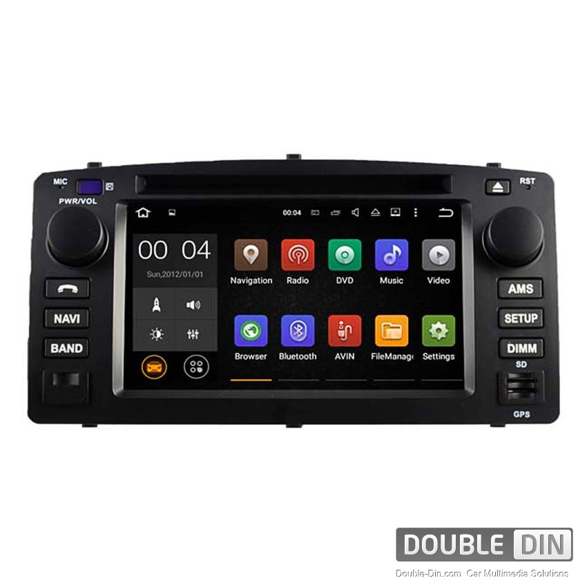 Navigation / Multimedia Head unit with Android 5.1 for Toyota Corolla E120/E130 DD-5512
