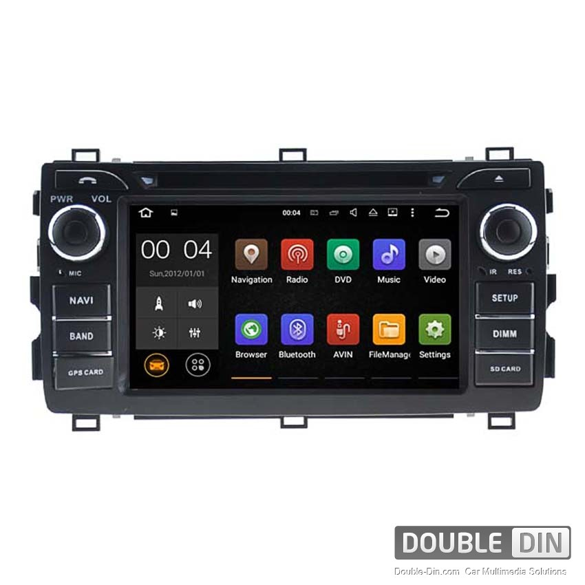 Navigation / Multimedia Head unit with Android 5.1 for Toyota Auris  - DD-5534