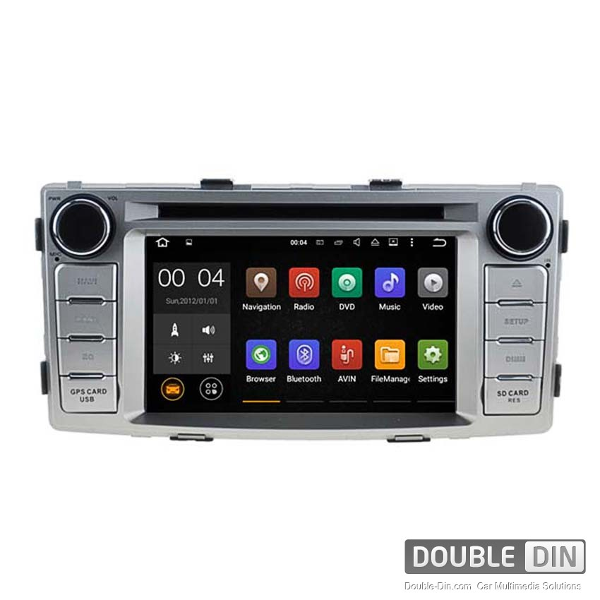 Navigation / Multimedia Head unit with Android 5.1 for Toyota Hilux  - DD-5709