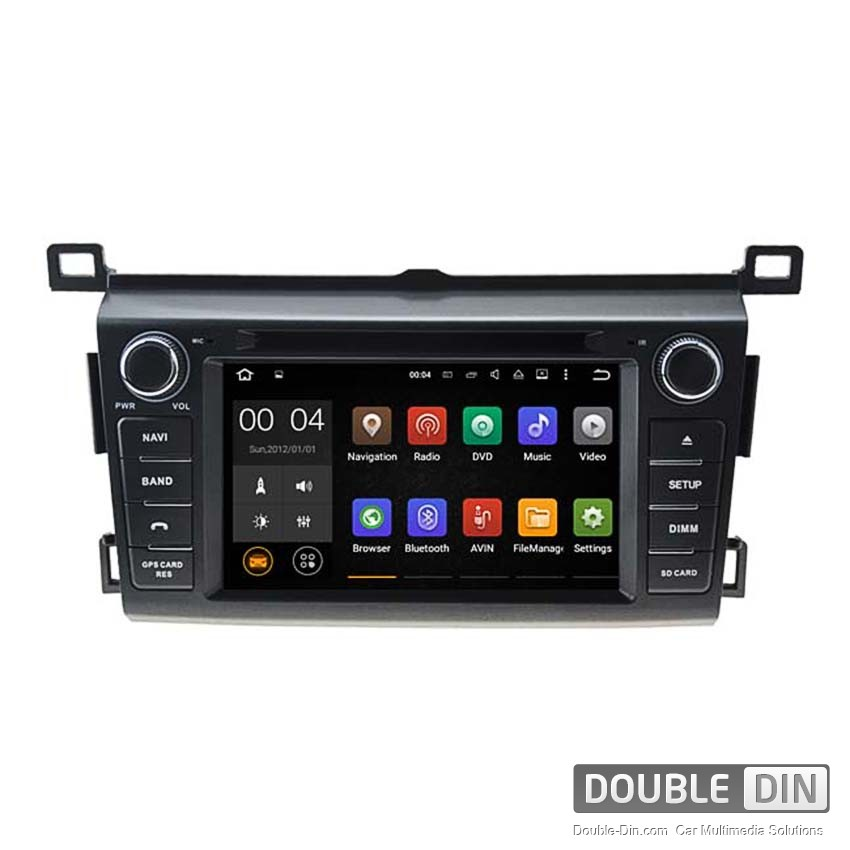 Navigation / Multimedia Head unit with Android 5.1 for Toyota RAV4  - DD-5746
