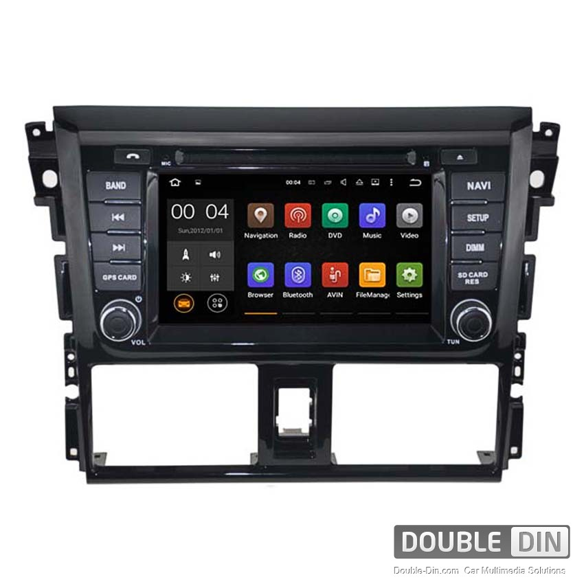 Navigation / Multimedia Head unit with Android 5.1 for Toyota Yaris  - DD-5752