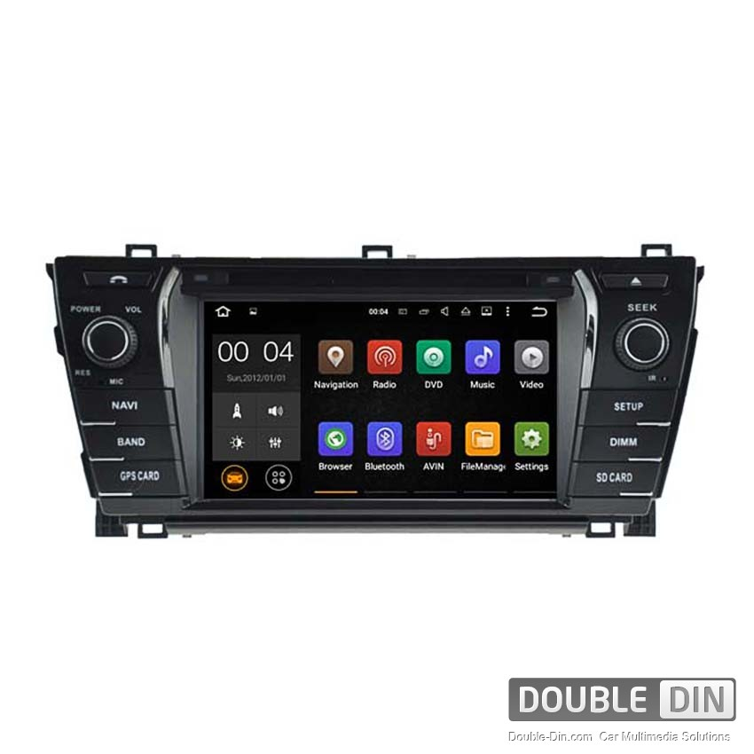 Navigation / Multimedia Head unit with Android 5.1 for Toyota Corolla  - DD-5781