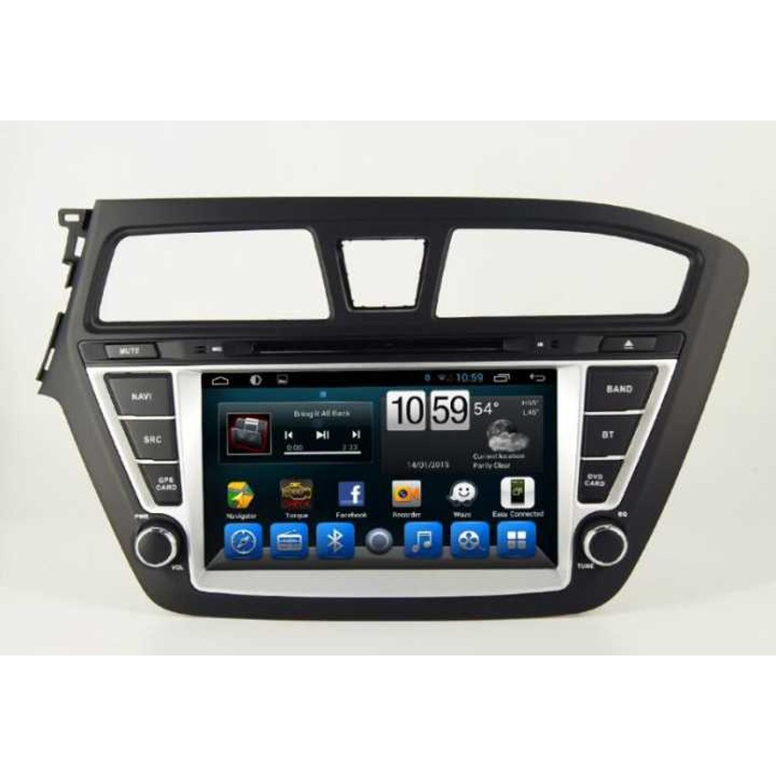 Navigation / Multimedia Head unit with Android for Hyundai I20 - DD-8098R