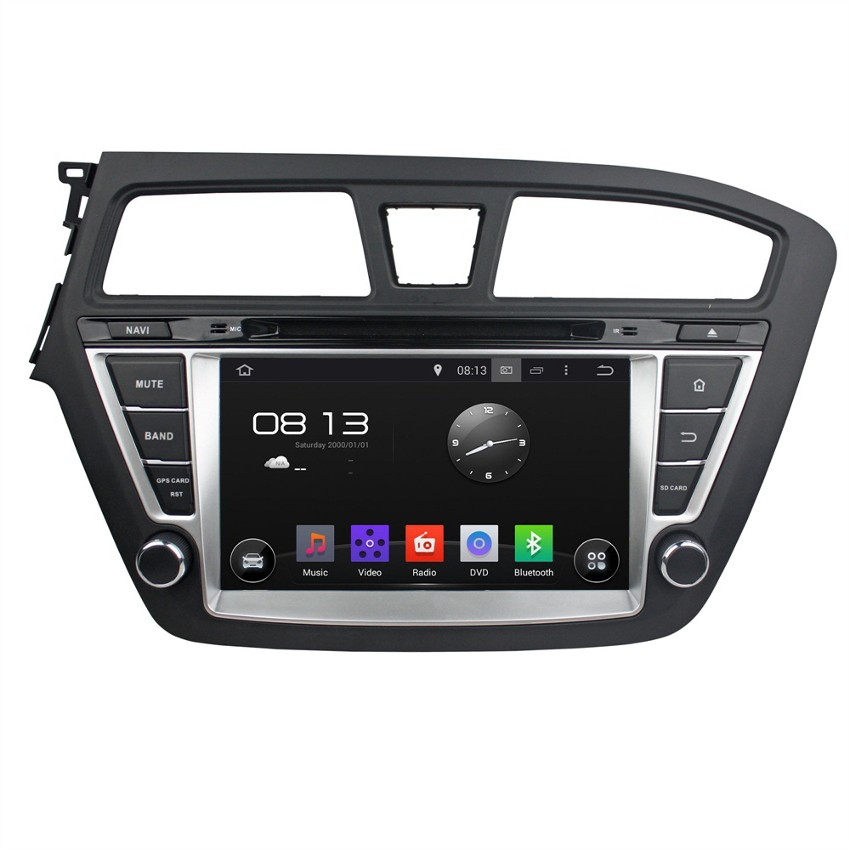 Navigation / Multimedia Head unit with Android 5.1 for Hyundai I20  - DD-8081K