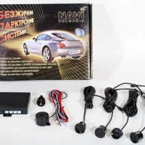 Parking / Reversing System with Buzzer 4 Sensors Kit