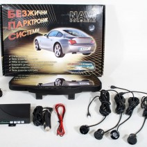 Wireless Parking / Reversing System, Rearview Mirror LED Display 4 or 8 Sensors Kit