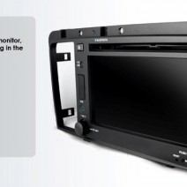 OEM Multimedia Double Din - DVD, GPS, TV for Volvo S60 / V70