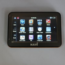 "Portable GPS, A/V, FM - 4.3"" Display Navigation System"