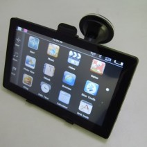 "Portable GPS, A/V, FM - 7"" Display Navigation System"