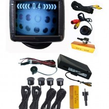"3.5"" LCD display parktronic system, camera with IR and 4 sensors"