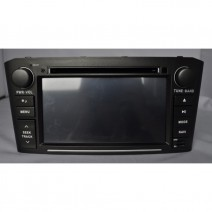 OEM Multimedia Double Din - DVD, GPS, TV for TOYOTA AVENSIS