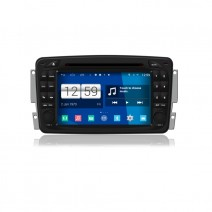 Navigation / Multimedia Head unit with Android for Mercedes C-class W203, CLK C209/W209 - DD-M171