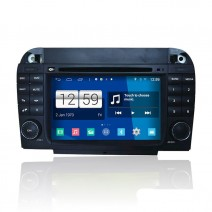 Navigation / Multimedia Head unit with Android for Mercedes S-class W220, CL W215 - DD-M220