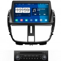 Navigation / Multimedia Head unit with Android for Peugeot 207  - DD-M207