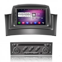 Navigation / Multimedia Head unit with Android for Renault Megane II  - DD-M098
