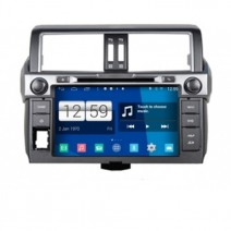 Navigation / Multimedia Head unit with Android for Toyota Land Cruiser Prado 150- DD-M347
