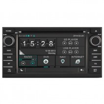 Navigation / Multimedia Head unit for Nissan Almera, Juke - DD-8906