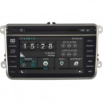 Navigation / Multimedia Head unit for VW Golf, Passat, Tiguan, Touran, EOS, Caddy, Jetta and others - DD-8246