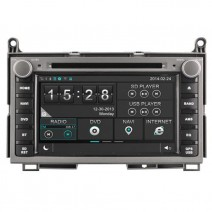 Navigation / Multimedia Head unit for Toyota Venza - DD-8122