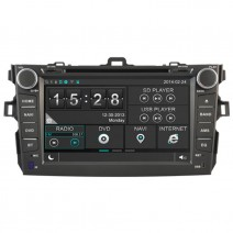 Navigation / Multimedia Head unit for Toyota Corolla - DD-8124