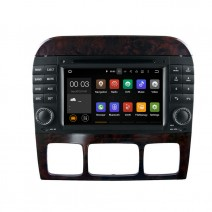 Navigation / Multimedia Head unit with Android 5.1 for Mercedes S-class W220, CL W215 - DD-7082