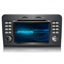 Navigation / Multimedia Head Unit DYNAVIN for Mercedes ML-class W164, GL-class  X164 - N6-MBML
